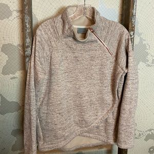 Athleta Cozy Karma Asym pullover M like new